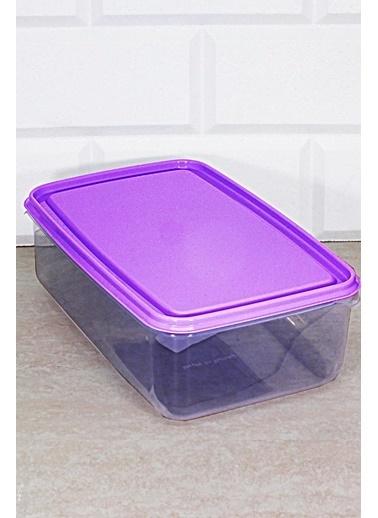 Kitchen Love Renkli Kapaklı (Mikrodalgaya Girebilen) Saklama Kabı Mor